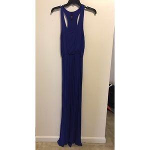 Jolie (ModCloth) racerback royal blue maxi dress